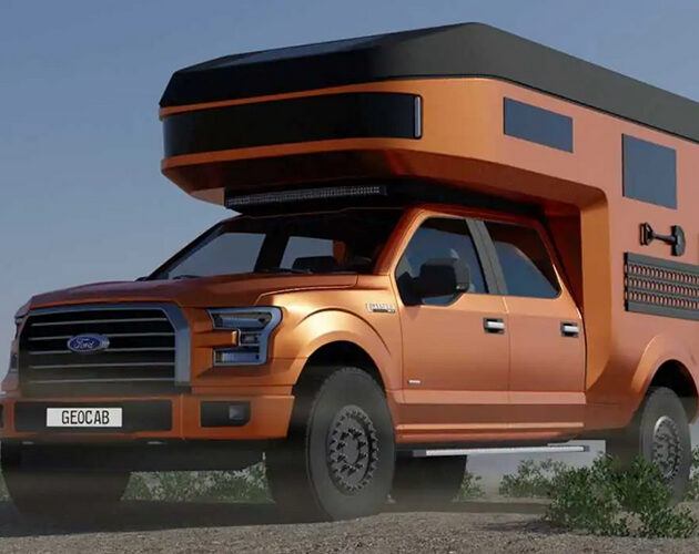 Geo-Cab introduces new line of carbon fiber Ford truck camper conversions