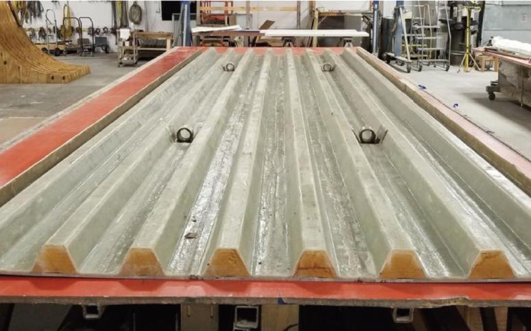 Bridge Deck by Structural Composites