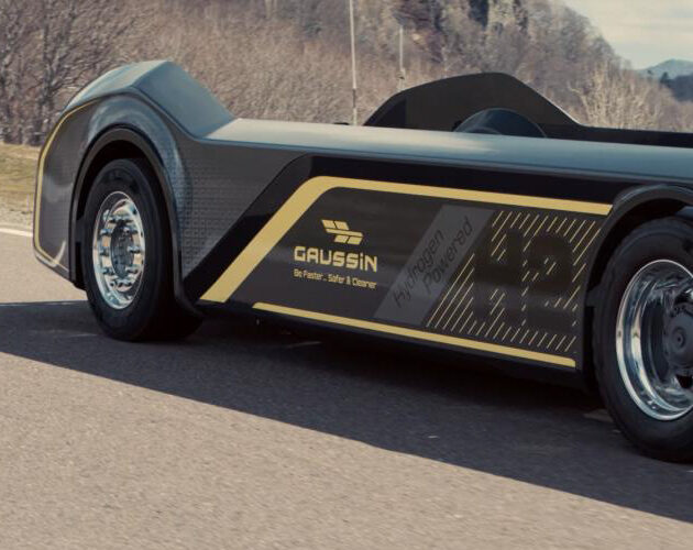 """Gaussin presents the world's first 100% hydrogen or all-electric """"skateboard"""" for class 8 tractor and straight trucks"""
