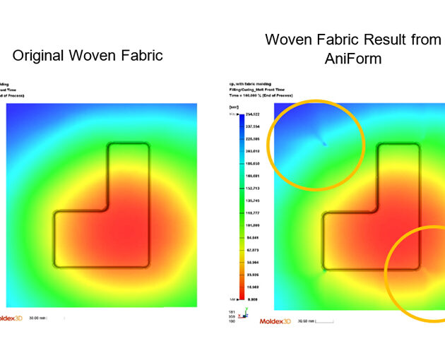 AniForm and Moldex3D collaborate to offer superior RTM analysis