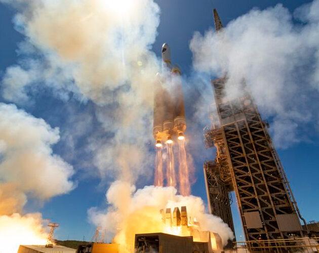 Northrop Grumman support United Launch Alliance Delta IV rocket launch