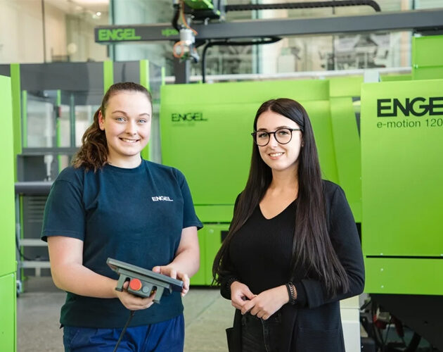 Engel promotes young female technicians