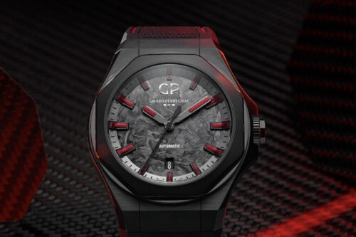 Girard-Perregaux's new carbon fibre watch is designed for the Chinese market