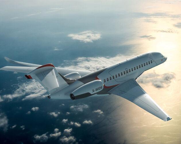 Stellia Aerospace participe à la réalisation du tout nouvel avion d'affaires haut de gamme de Dassault Aviation
