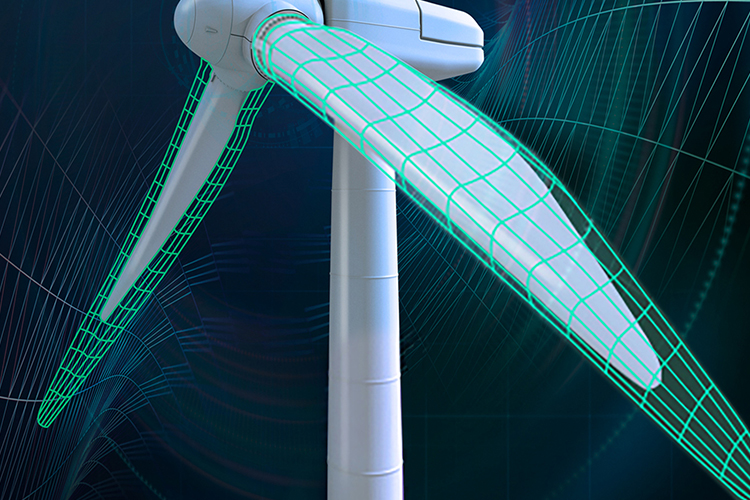 PU-based composite for offshore wind turbine rotor blades