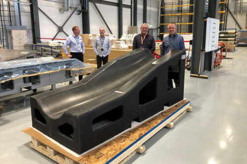 3D printed resin helps deliver advanced manufacturing for the UK combat air sector