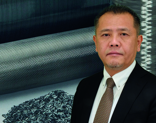 """Shukei """"Daniel"""" Inui, Teijin Group Corporate Officer, General Manager, Carbon Fibers Business Unit, Teijin Limited"""