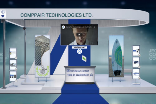 CompPair presents their latest innovations on JEC Composites Connect