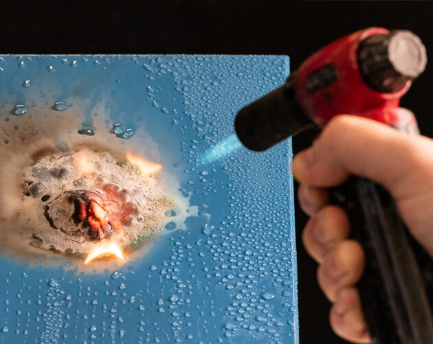 Finnester Coatings introduces innovative fire protection coating technology