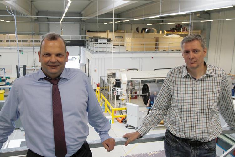 Henning Wichmann (CEO INVENT GmbH) and Carsten Schöppinger (CTO INVENT GmbH)