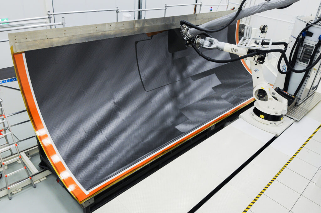 demonstrate and validate how the use of composites, namely thermoplastics, can help realize a next-gen fleet of aircraft capable of offering the same strength and durability of steel and aluminum