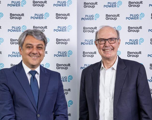"""Renault Group et Plug Power créent """"HYVIA"""" : coentreprise dédiée à la mobilité hydrogène"""