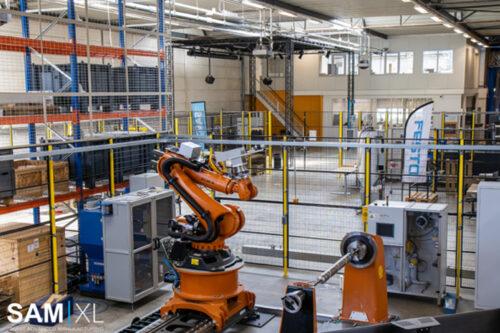SAM|XL and Eastman Machine company announce technology partnership