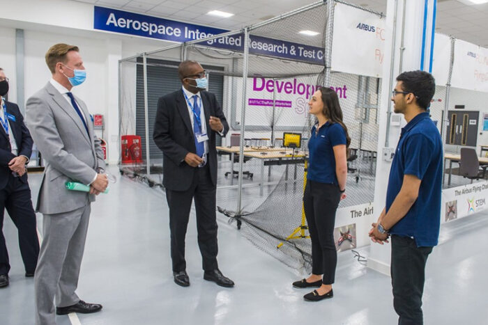 Airbus opens new £40M aerospace research centre in UK