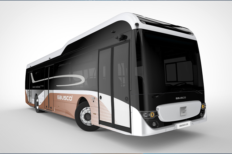 Ebusco 3.0 series of city buses
