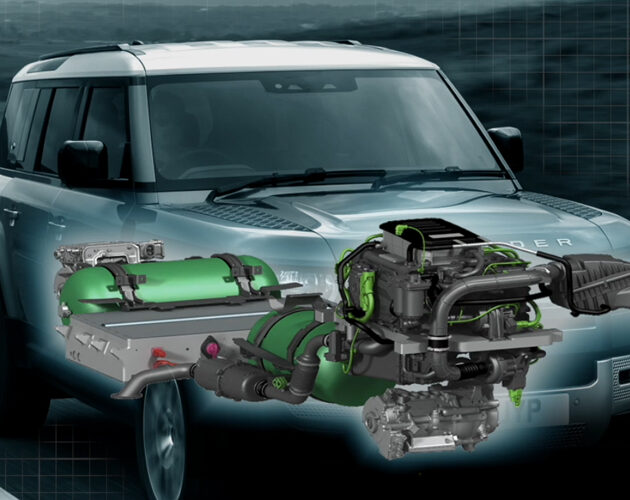 Jaguar Land Rover to develop hydrogen-powered Defender fuel cell prototype