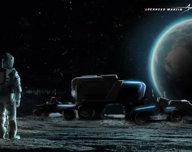 Lockheed Martin and General Motors team to further lunar exploration with autonomous moon rover