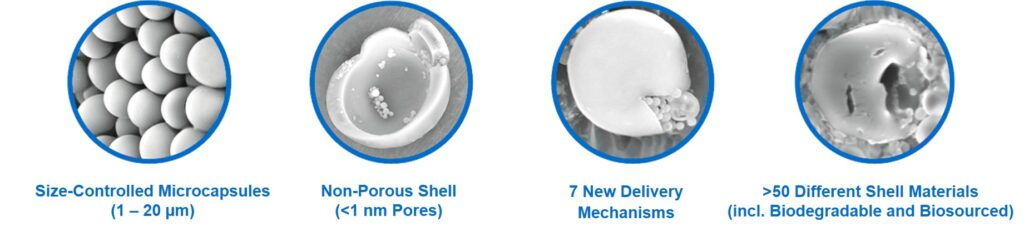 Calyxia presents breakthrough microencapsulation technology during JEC Composites Connect