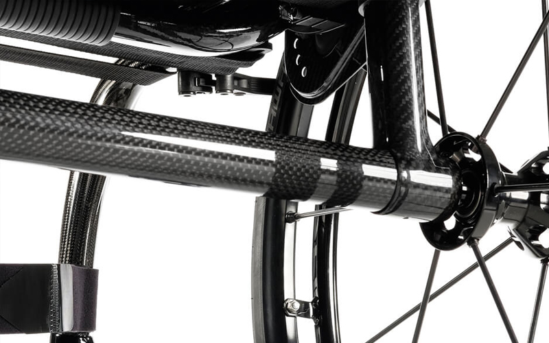 The QUICKIE Krypton R is the lightest fully adjustable rigid wheelchair from 6,2 k