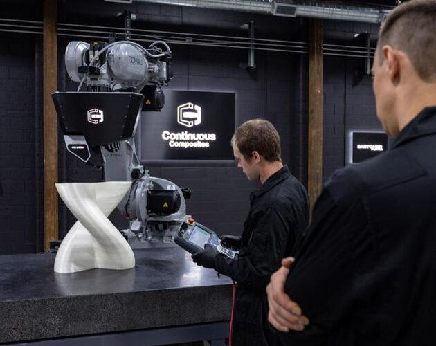Continuous Composites closes $17m Series A financing
