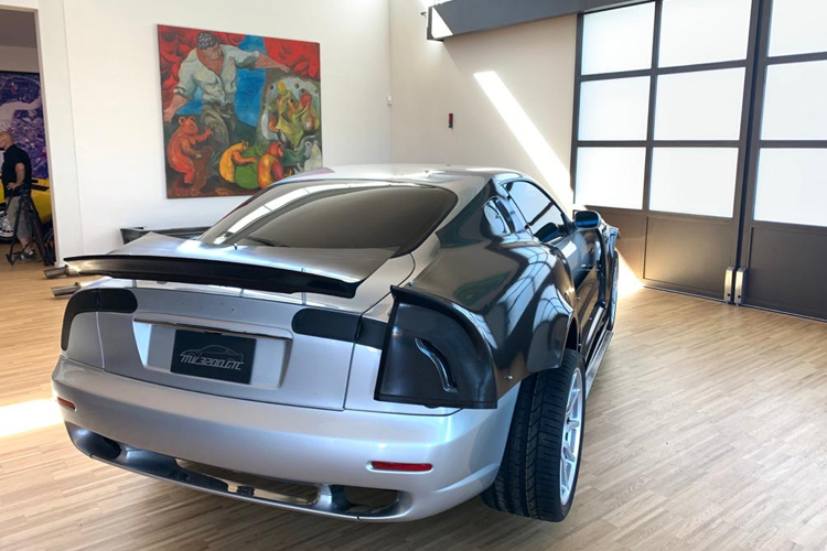 Maserati MV 3200 GTC made with the CMS Kreator a hybrid machine for 3D printing and milling of composites.