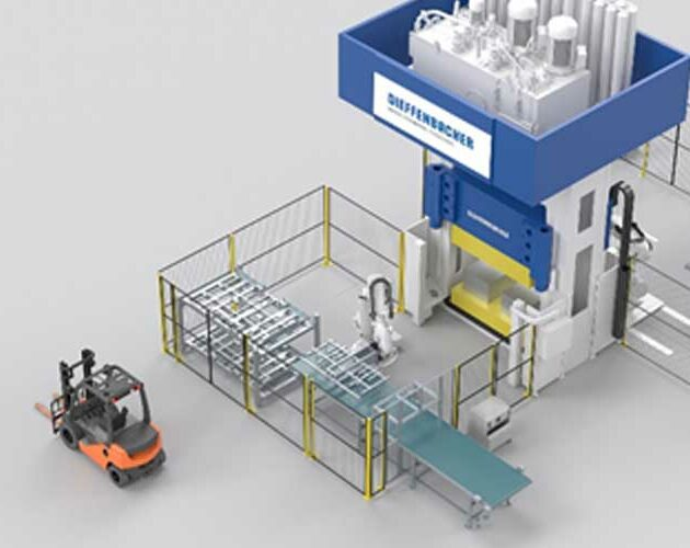 Dieffenbacher fully automated SMC plants enable shorter cycle times and increased productivity