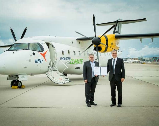 Deutsche Aircraft and H2FLY join forces to explore hydrogen powered flight