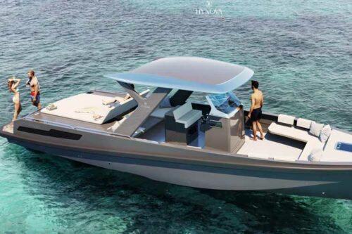 """HYNOVA présente """"The New Era"""": son bateau propulsé avec un système électro-hydrogène"""