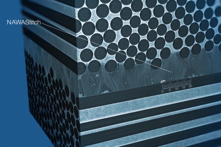 This innovation uses vertically aligned carbon nanotubes (VACNT) to act as 'nano-velcro' through interlaminar reinforcement of composite materials