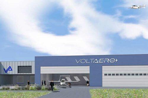 VoltAero choisit l'aéroport de Rochefort, Charente-Maritime, comme site d'assemblage final pour son avion hybride électrique Cassio