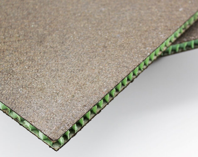 New composite from basalt fibres for rail carriage interiors