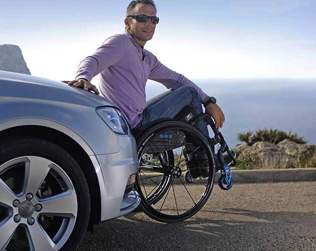 Quickie Krypton: The lightest carbon wheelchairs worldwide