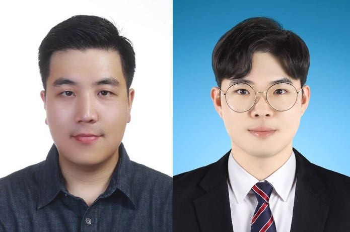 Professor Hoe Joon Kim (left) and his student Mr. Hang-Gyeom Kim (right), who were key members of the research team that conceptualized and conducted the groundbreaking study ⓒDGIST