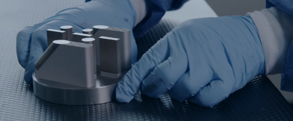 Realization of a component in Additive Manufacturing