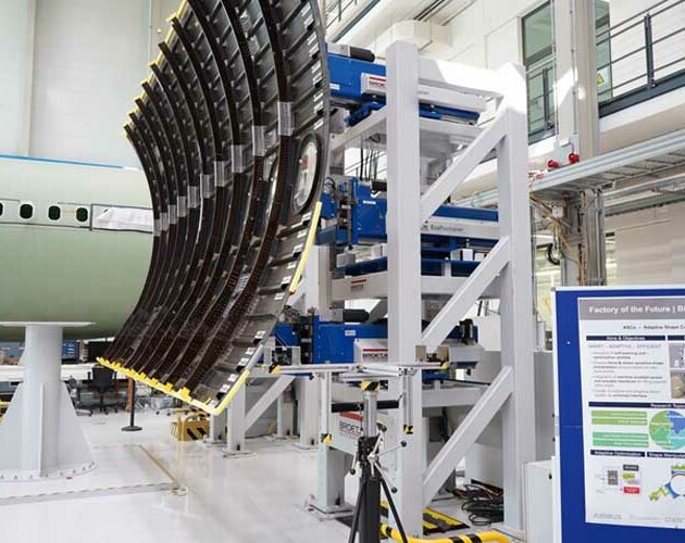 Broetje-Automation delivers 250th EcoPositioner to the ZAL Center of Applied Aeronautical Research in Hamburg