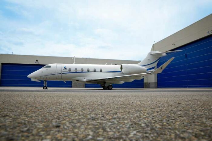 Sundt Air ajoute fièrement un troisième avion d'affaires Challenger de Bombardier à sa flotte