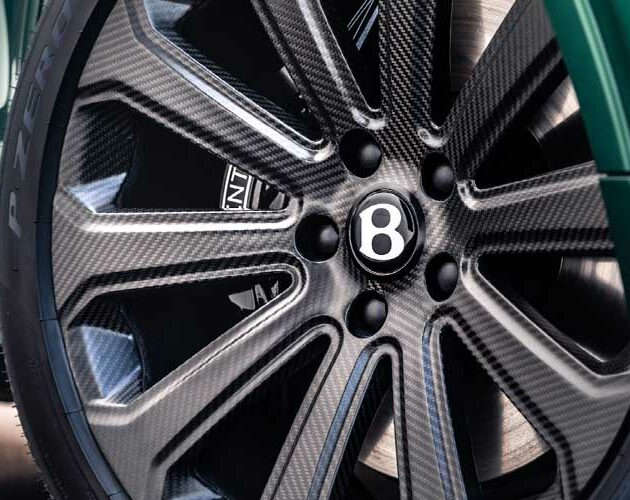 Bentley officially revealed the new carbon fibre rim by Bucci Composites