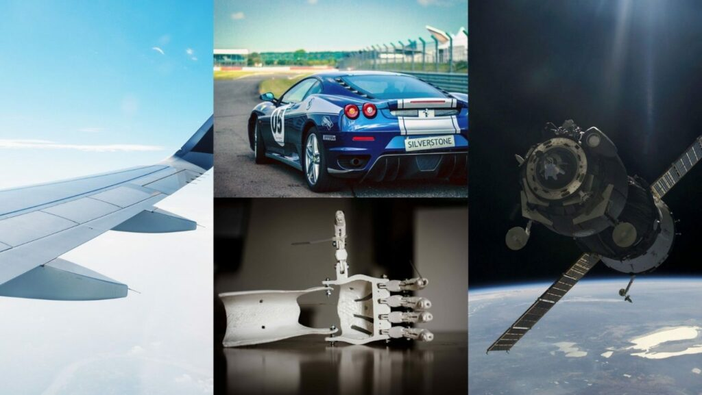 Among the sectors most interested in additive manufacturing technology are aerospace, aeronautics, automotive and medical
