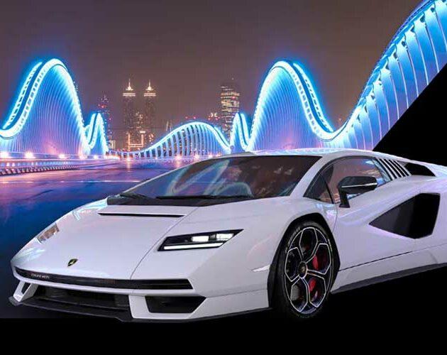 Lamborghini presents the Countach LPI 800-4