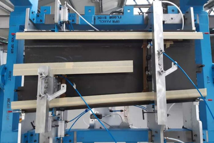 OPTICOMS brings automated composites manufacture to the SAT category