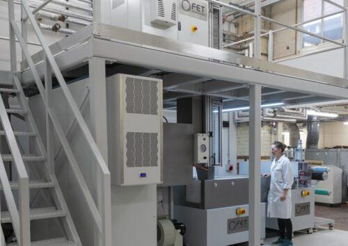 FET installs new Spunbond system at University of Leeds