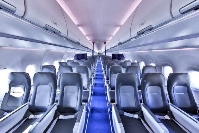 La nouvelle cabine Airspace monocouloir d'Airbus entre en service chez Lufthansa Group