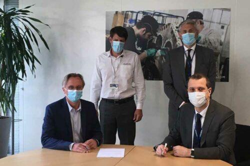 Alstom et Plastic Omnium s'associent afin de créer des solutions de stockage d'hydrogène embarquées pour le ferroviaire