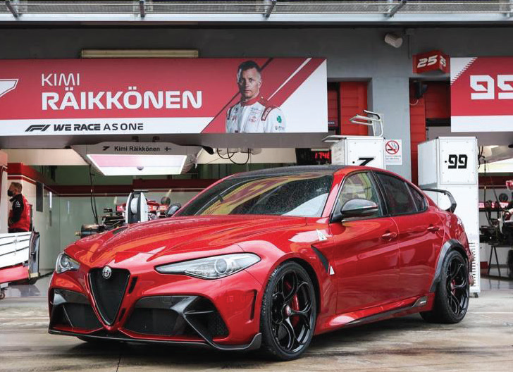 Hexcel's composite materials were used when HP Composites recently partnered with Sauber Engineering to produce all the carbon fiber body components for Alfa Romeo's stunning new supersport sedans, the Giulia GTA and GTAm.