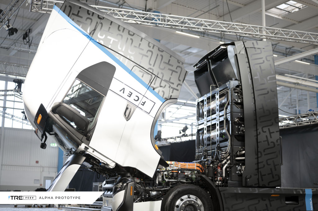 IVECO and Nikola inaugurate joint-venture manufacturing facility for electric heavy-duty trucks in Ulm, Germany (Alpha prototype)