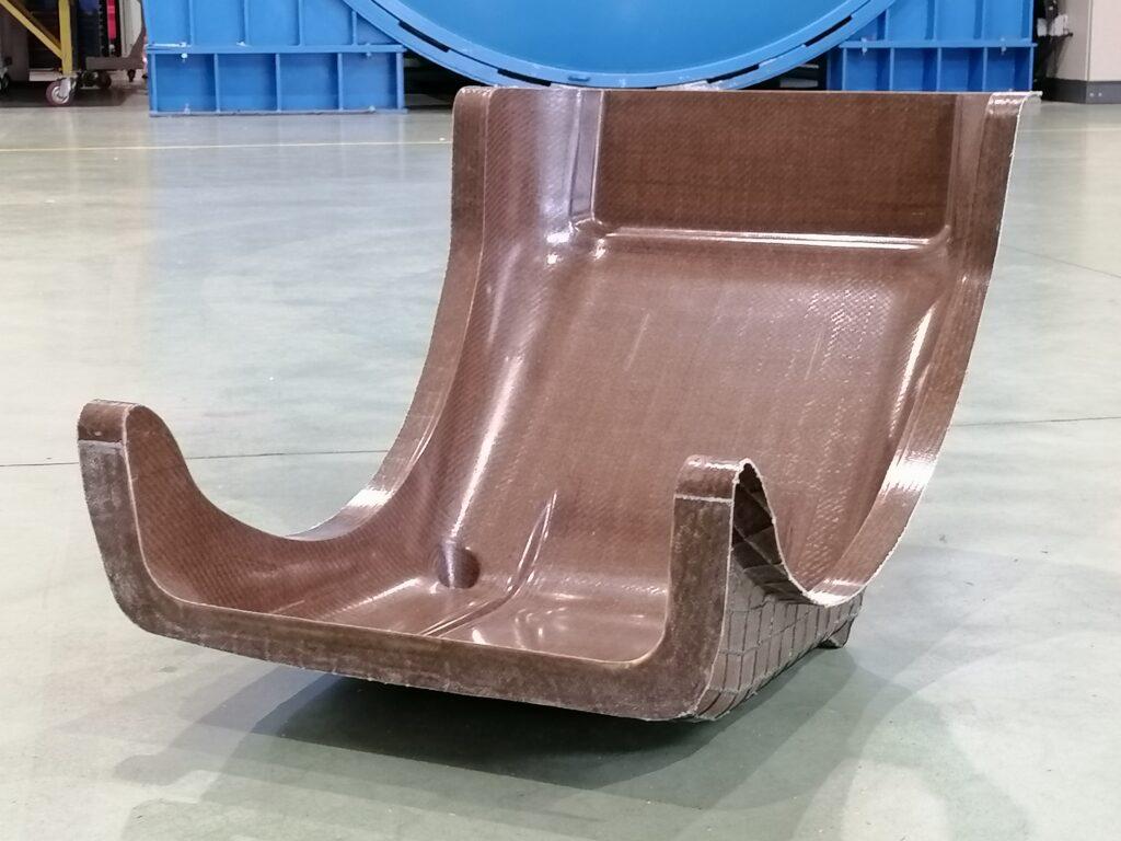 Flax fiber seat-2