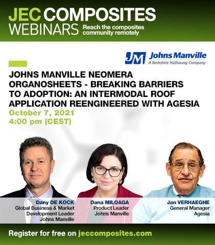 Johns Manville Neomera Organosheets