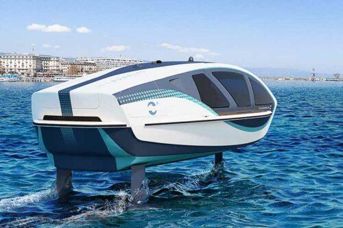 Multiplast poursuit la construction des bateaux-taxis SeaBubbles