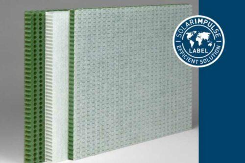 EconCore's RPET honeycomb technology accredited with prestigious Solar Impulse label