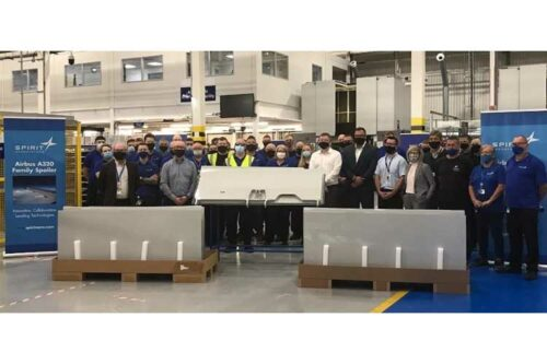 Spirit AeroSystems Europe delivers first set of A320 family RTM spoilers
